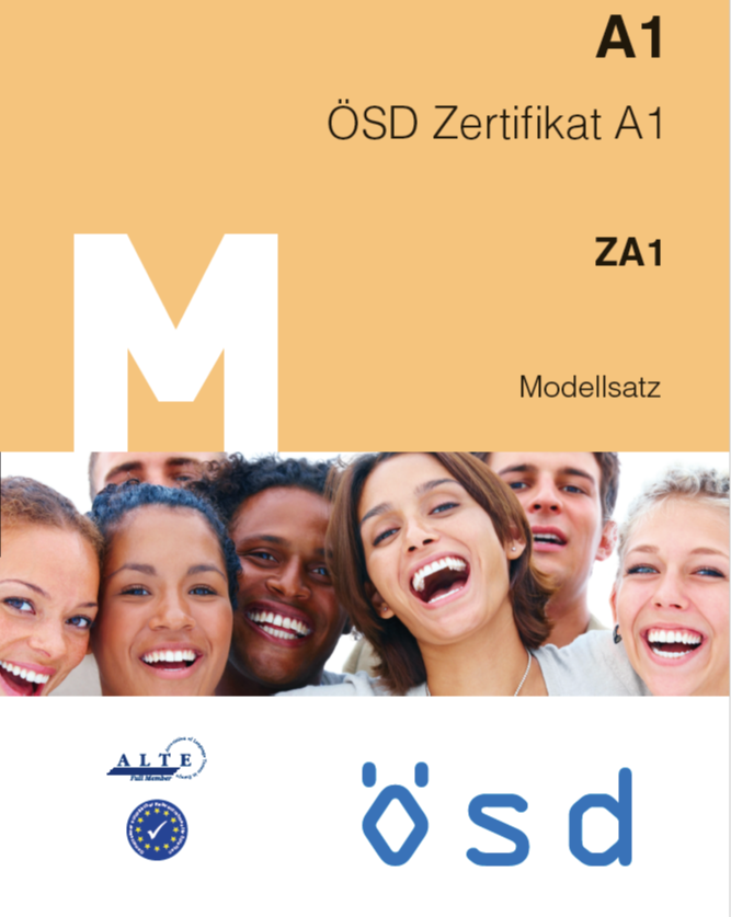 نمونه سوال آزمون ÖSD - سطح A1